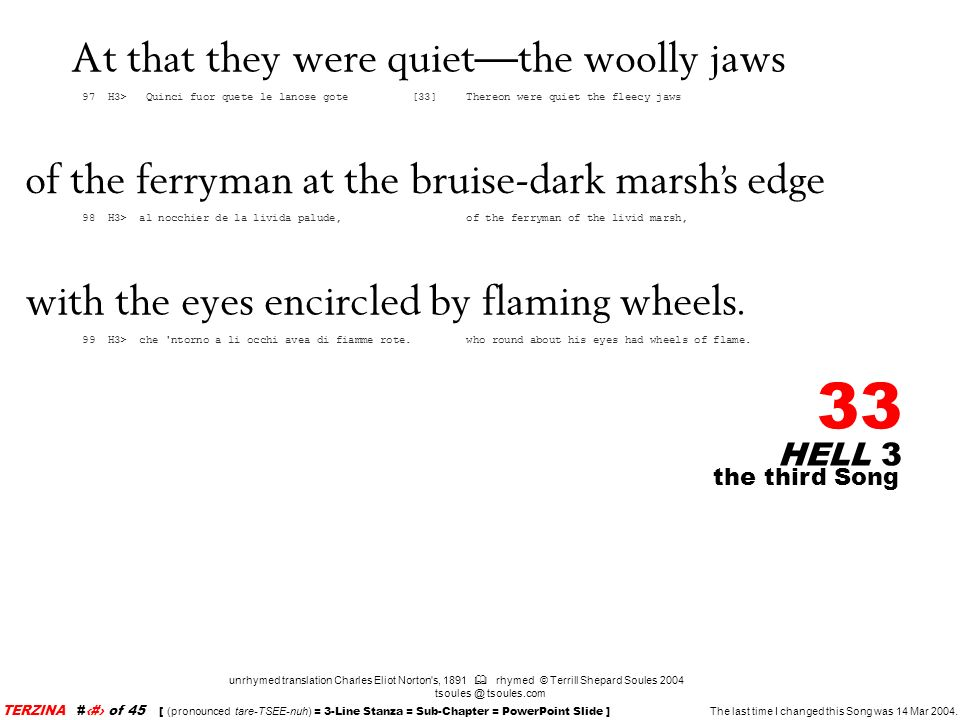 At that they were quiet—the woolly jaws