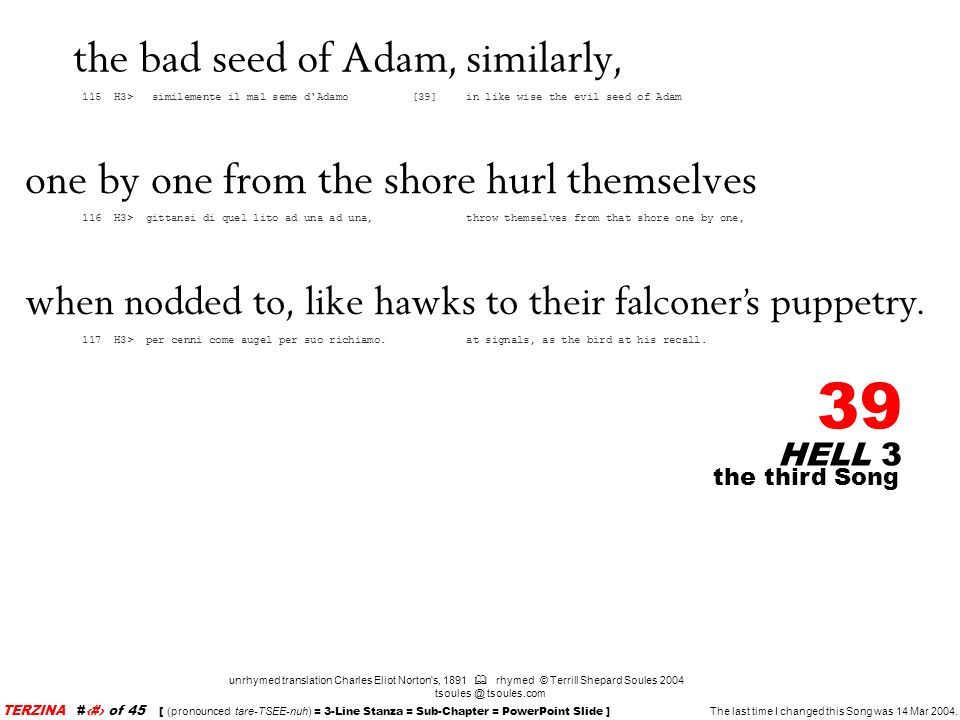 the bad seed of Adam, similarly,