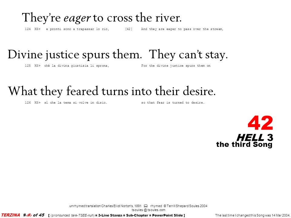 They're eager to cross the river.