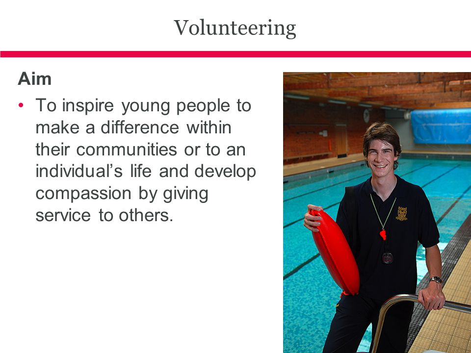 Volunteering Aim.