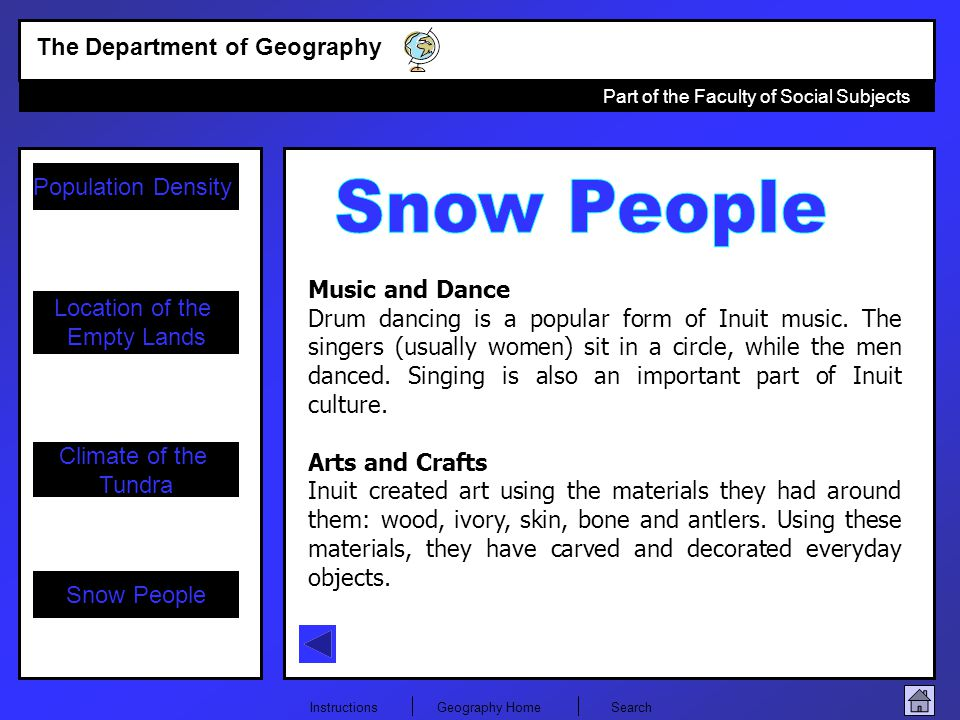Snow People Music and Dance