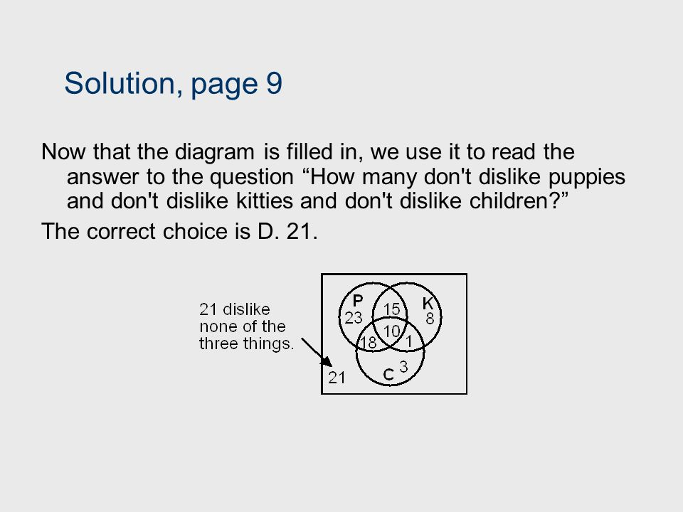 Solution, page 9