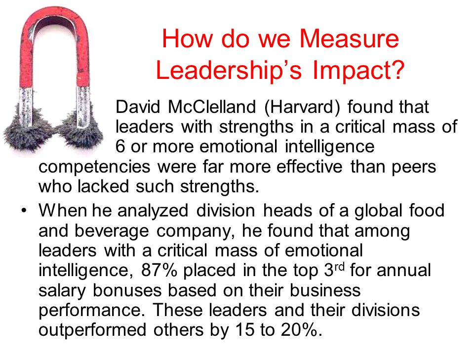 How do we Measure Leadership's Impact