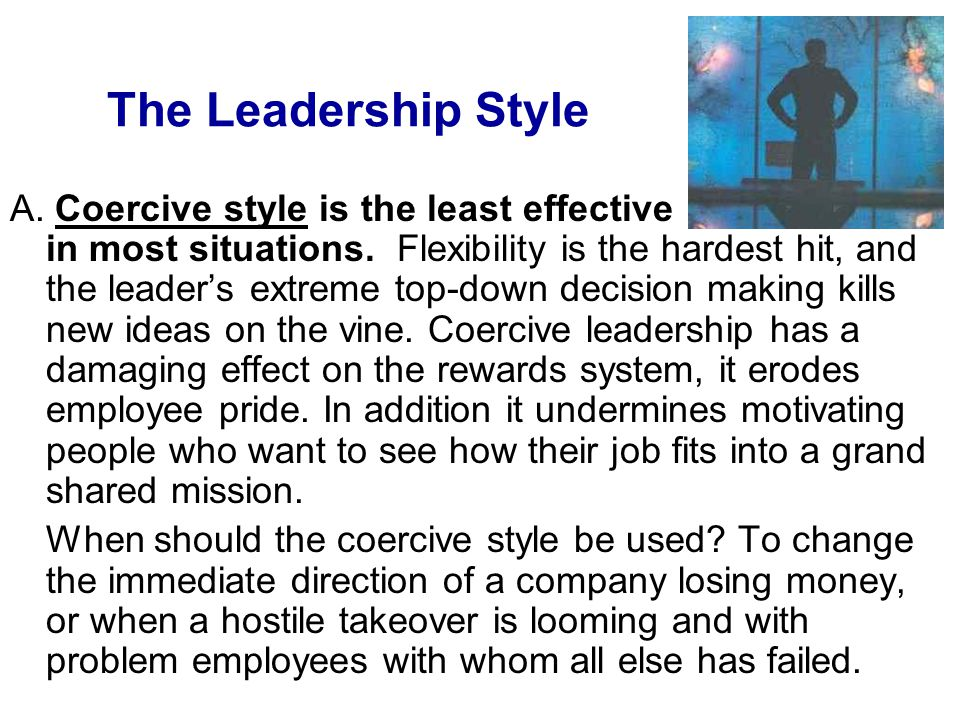 The Leadership Style