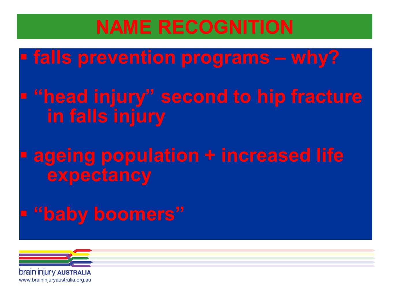 falls prevention programs – why