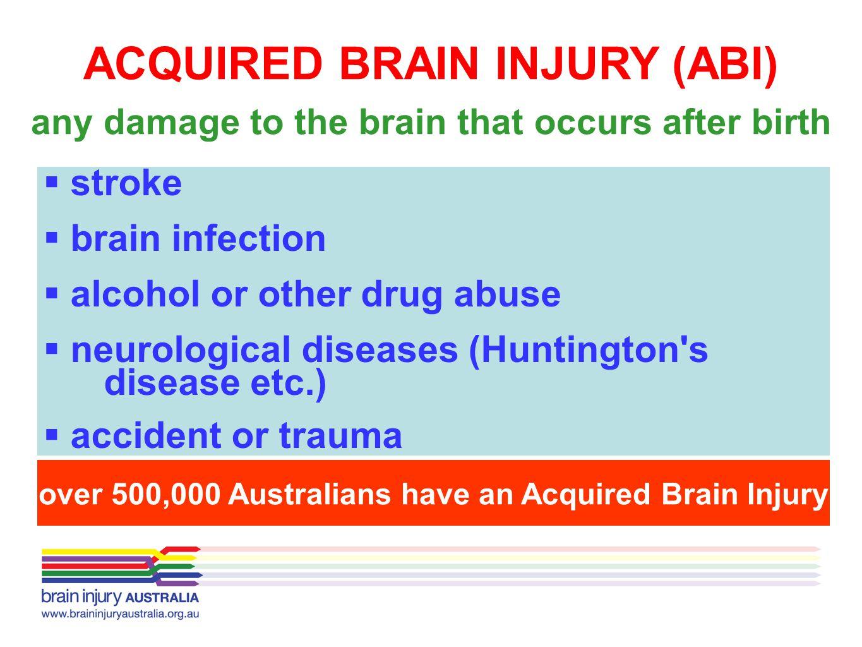 ACQUIRED BRAIN INJURY (ABI)