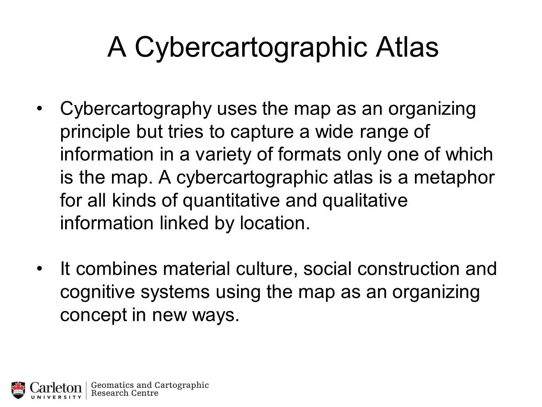 A Cybercartographic Atlas
