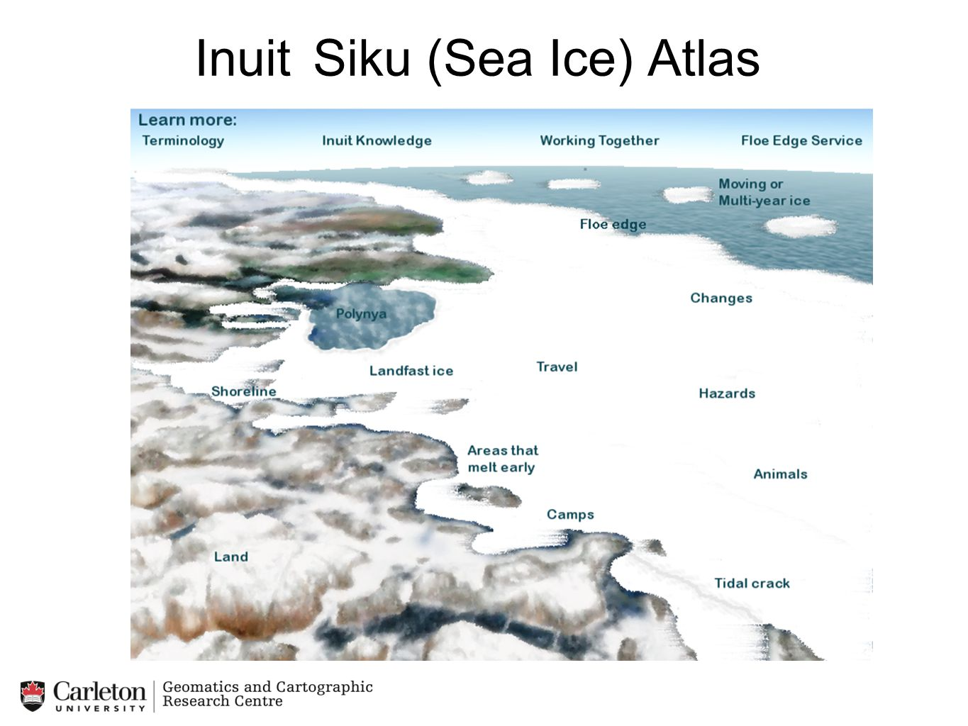 Inuit Siku (Sea Ice) Atlas