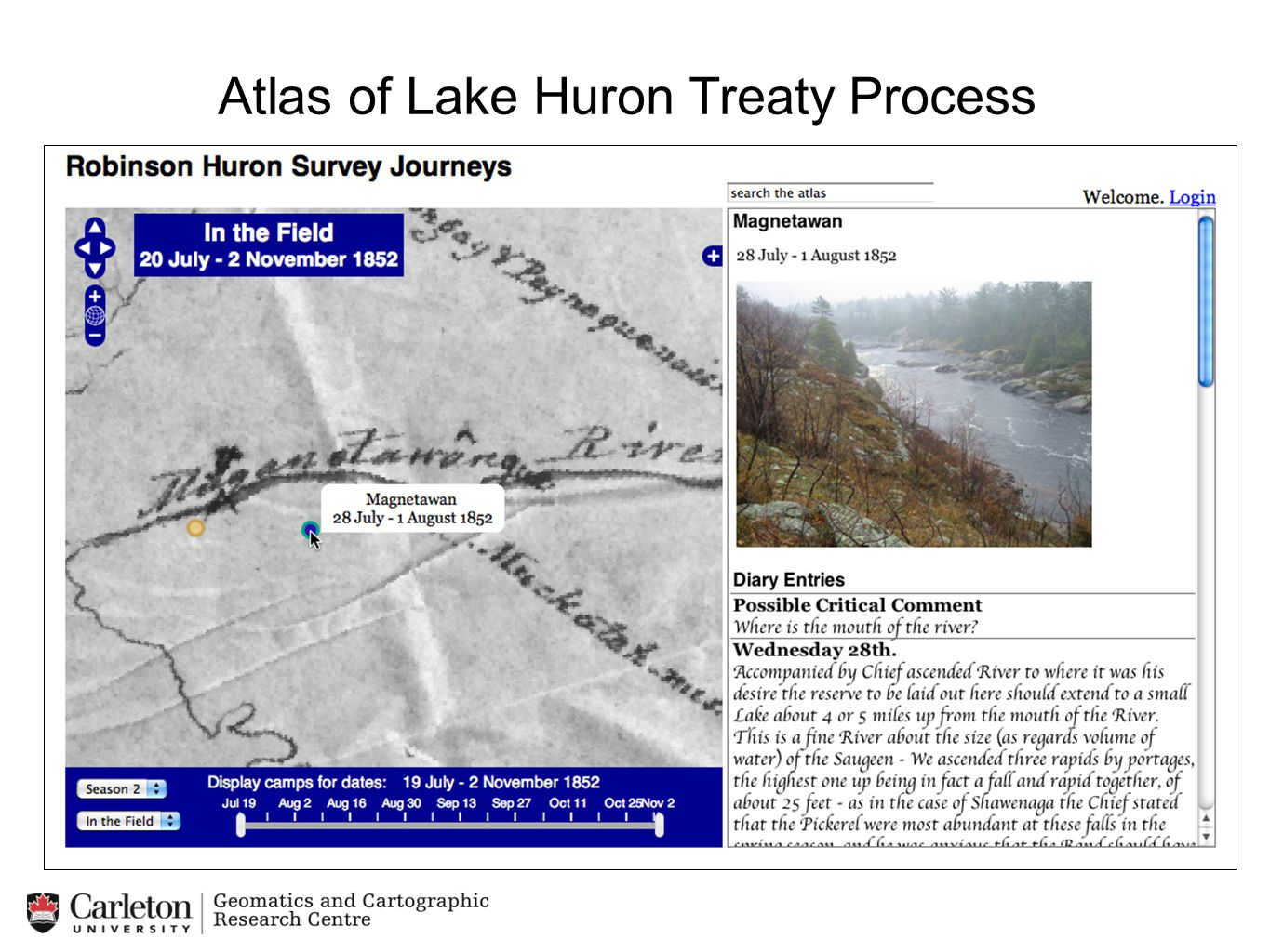 Atlas of Lake Huron Treaty Process