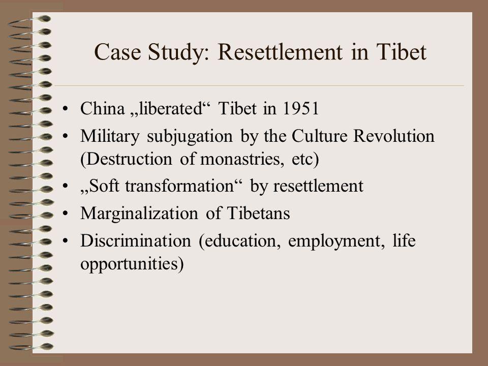 Case Study: Resettlement in Tibet