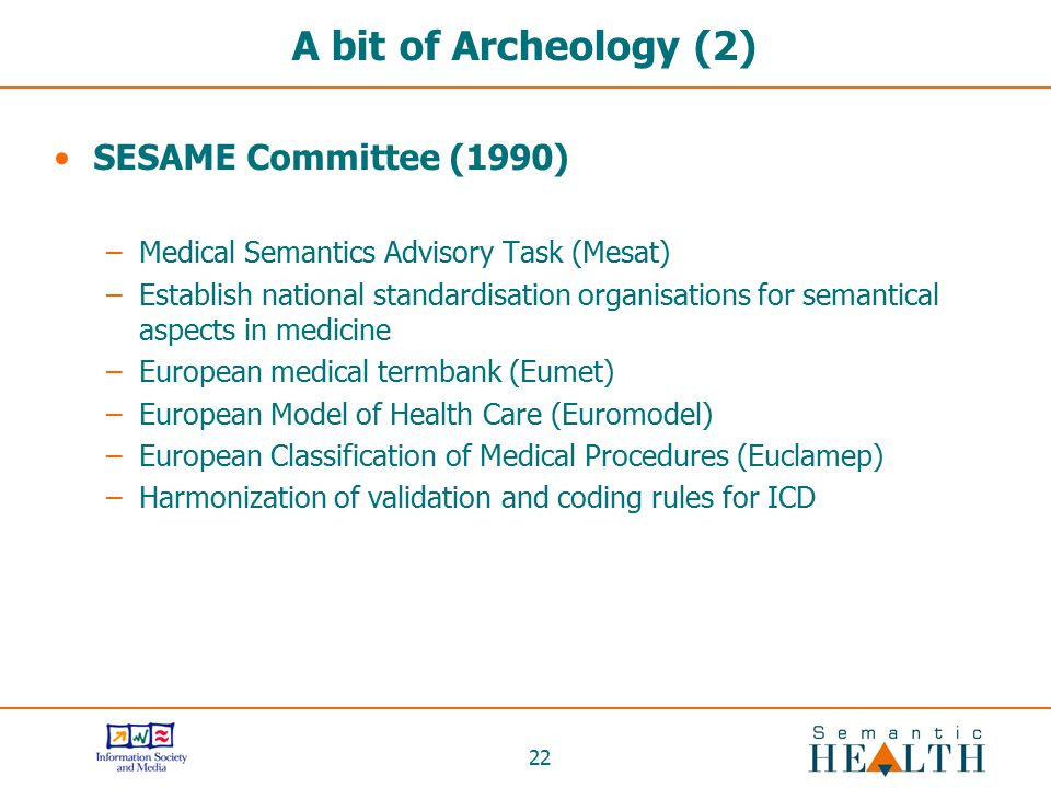 A bit of Archeology (2) SESAME Committee (1990)