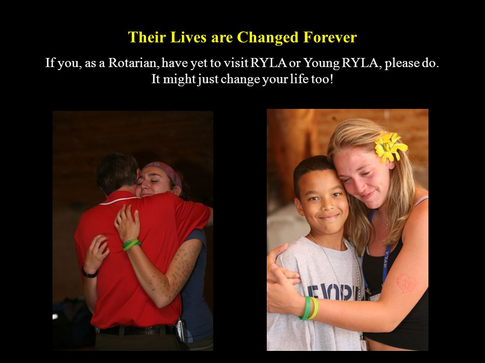 Their Lives are Changed Forever