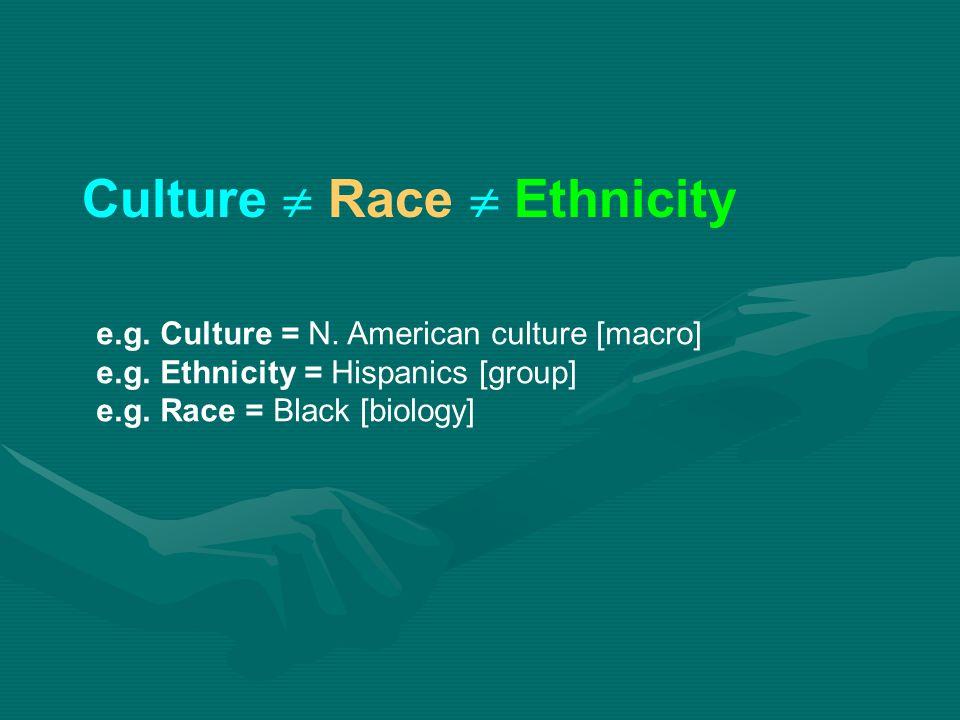 Culture  Race  Ethnicity