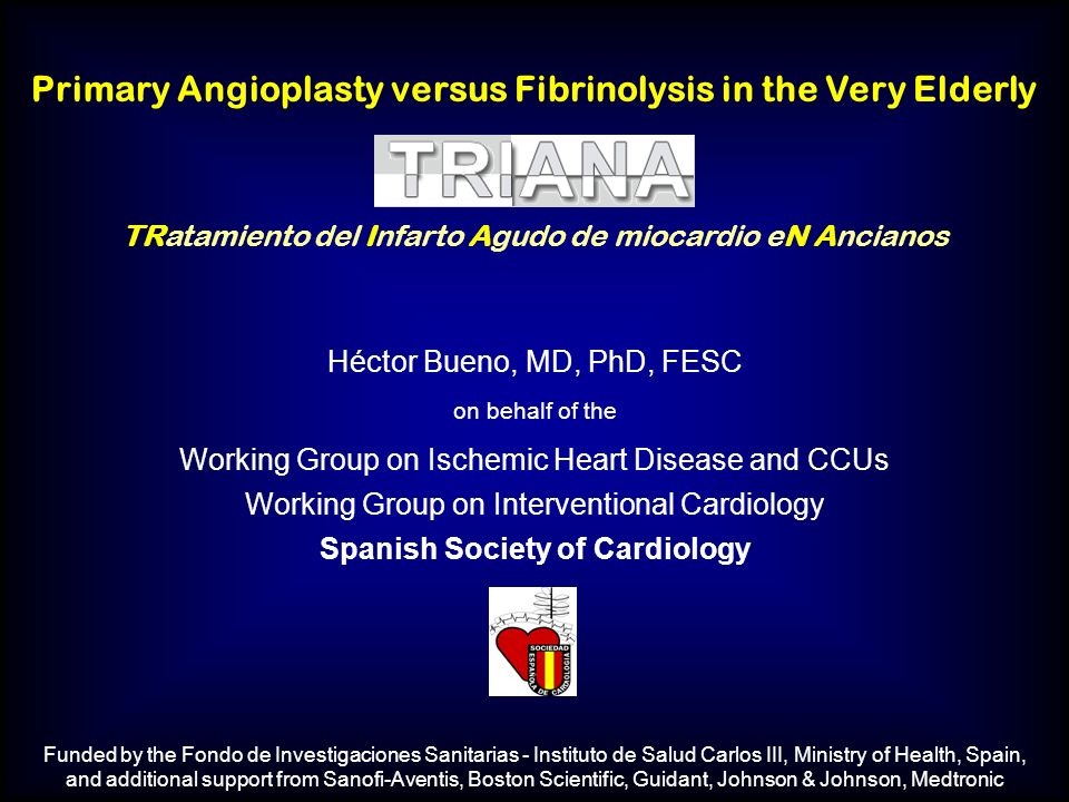 Primary Angioplasty versus Fibrinolysis in the Very Elderly