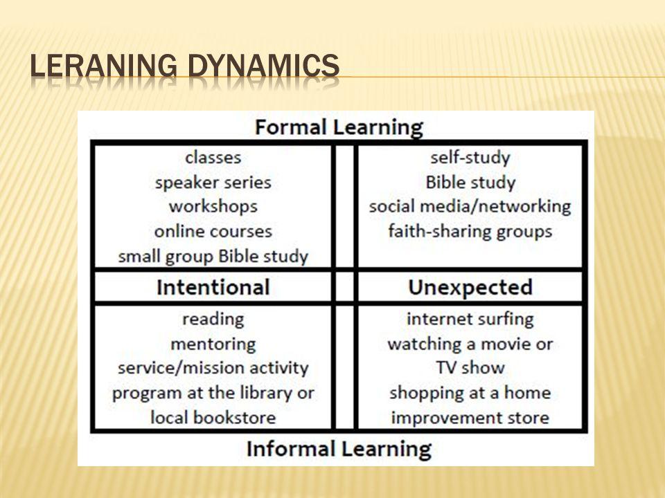 Leraning dynamics
