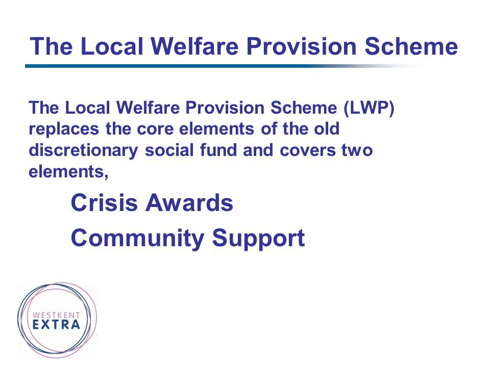 The Local Welfare Provision Scheme