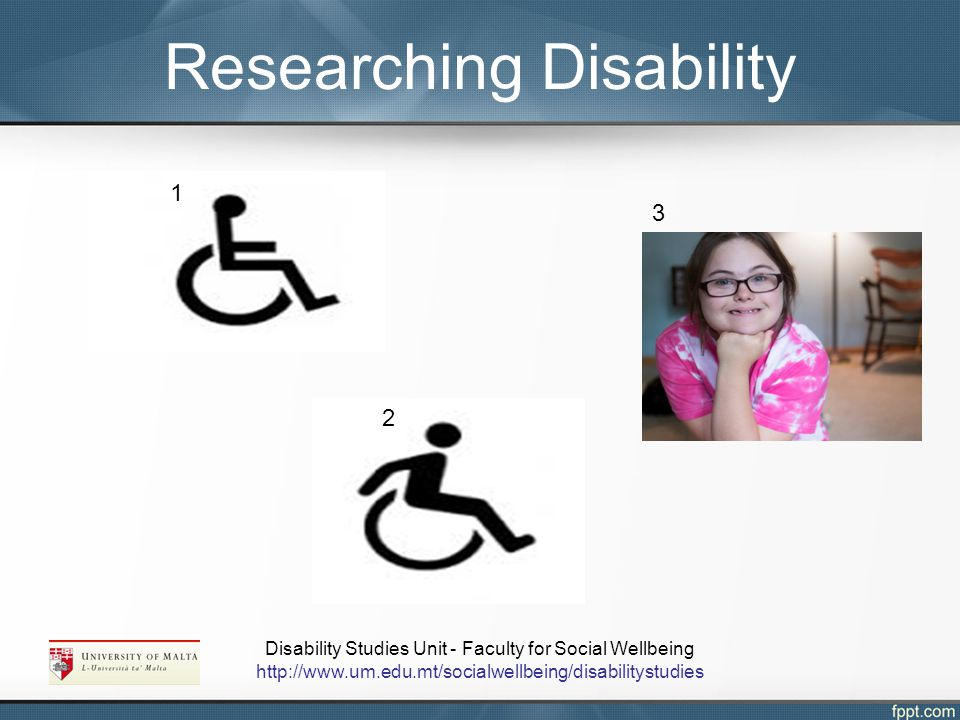 Researching Disability