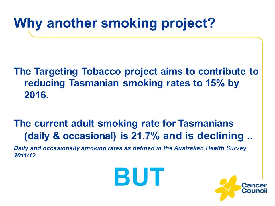 Why another smoking project