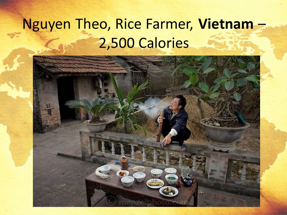 Nguyen Theo, Rice Farmer, Vietnam – 2,500 Calories