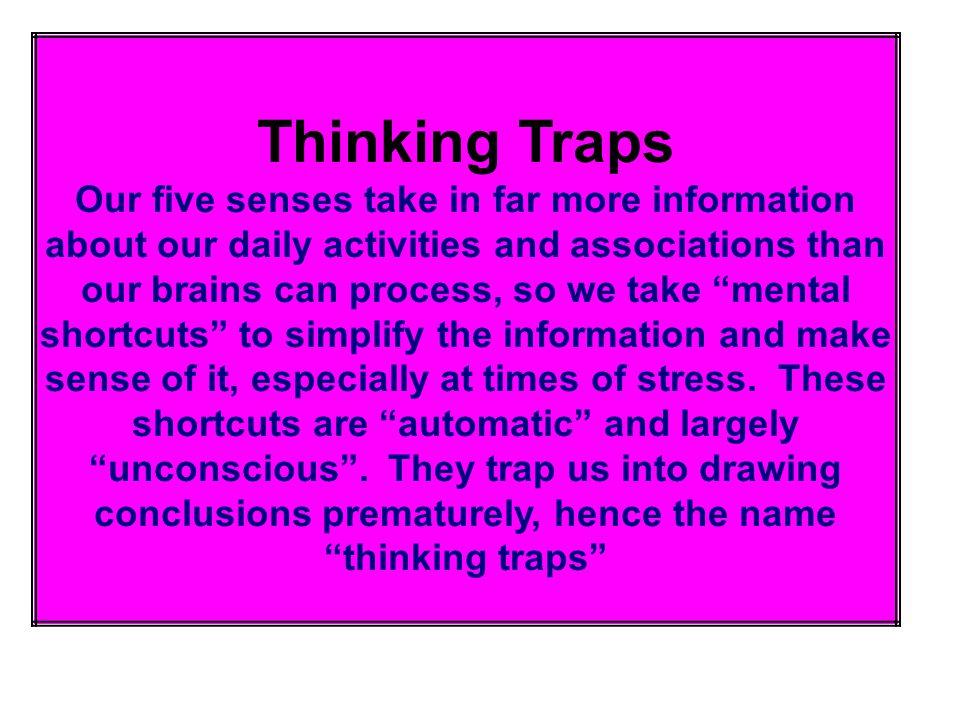 Thinking Traps.