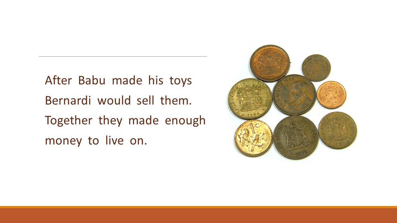 After Babu made his toys