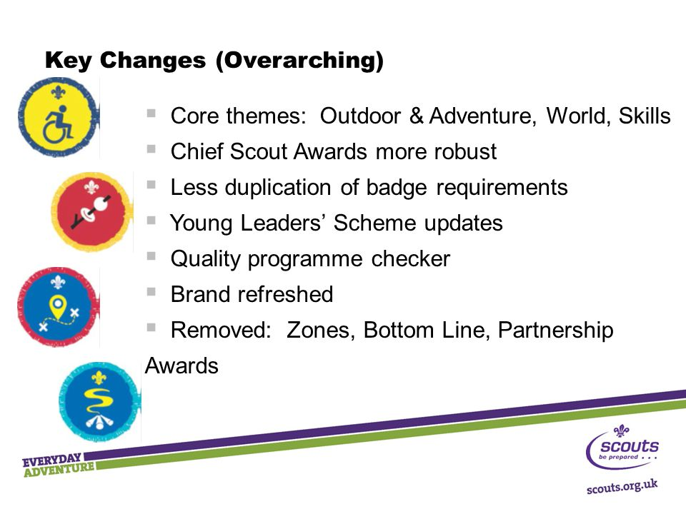 Key Changes (Overarching)