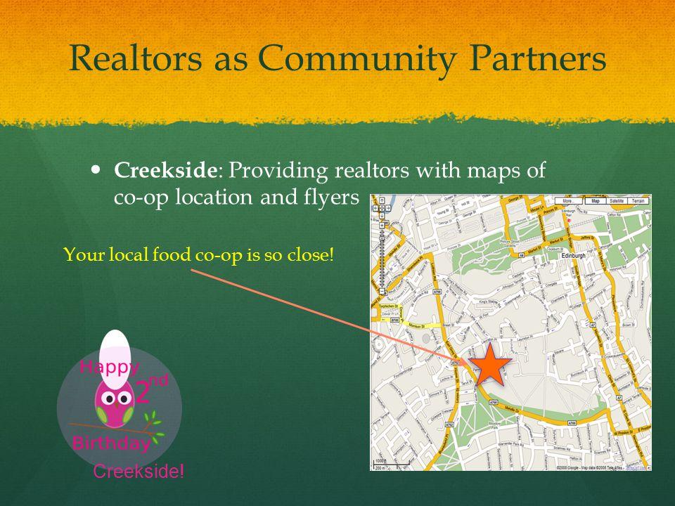 Realtors as Community Partners