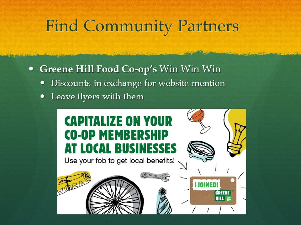 Find Community Partners
