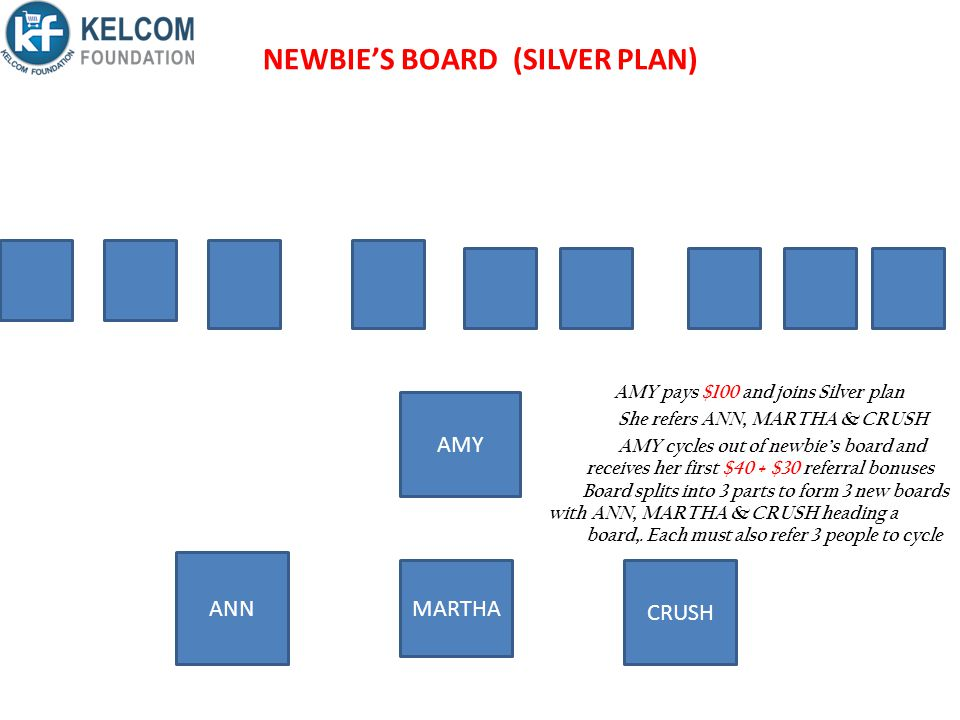 NEWBIE'S BOARD (SILVER PLAN)