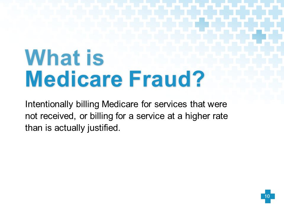 What is Medicare Fraud