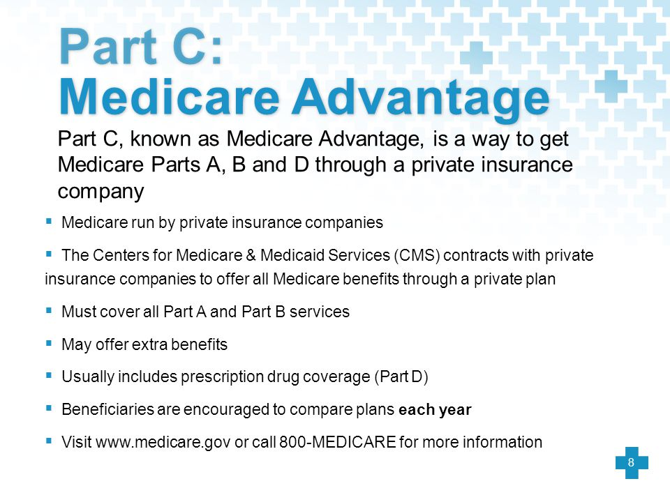 Part C: Medicare Advantage