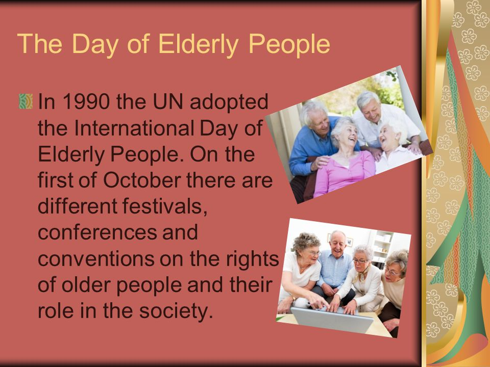 The Day of Elderly People