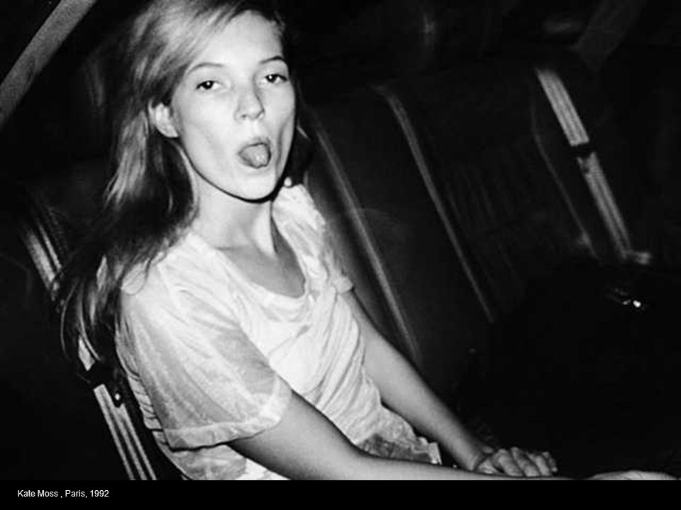 Kate Moss , Paris, 1992