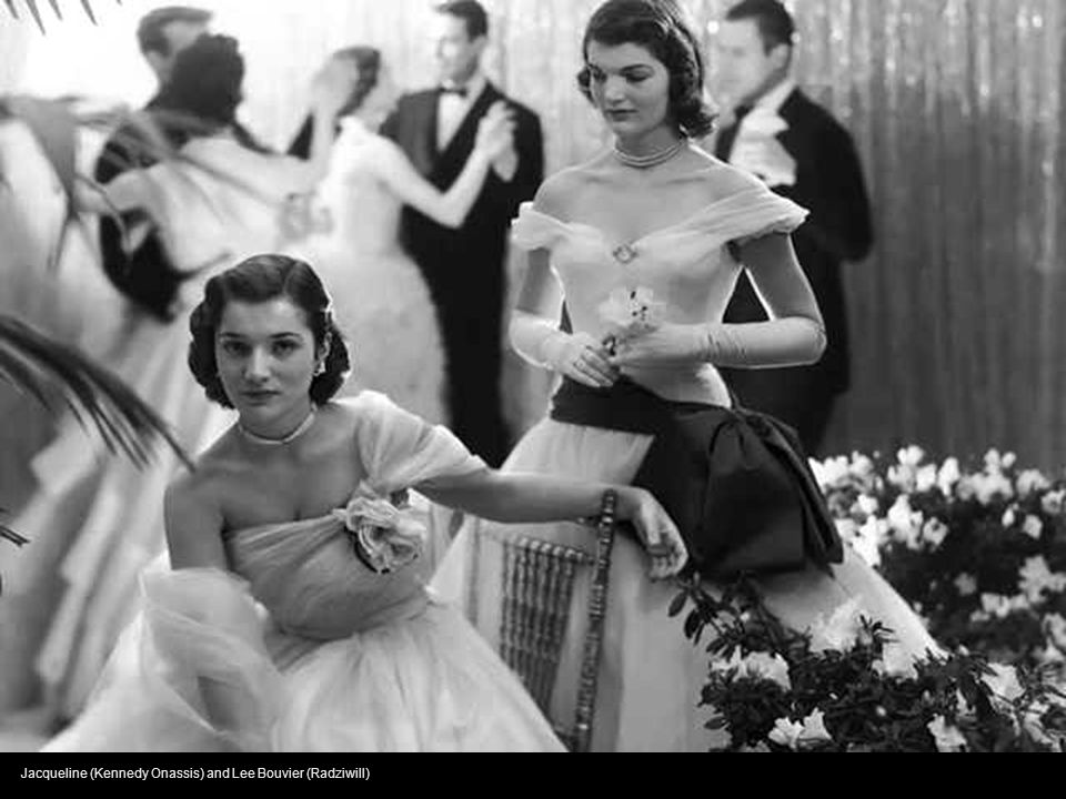 Jacqueline (Kennedy Onassis) and Lee Bouvier (Radziwill)