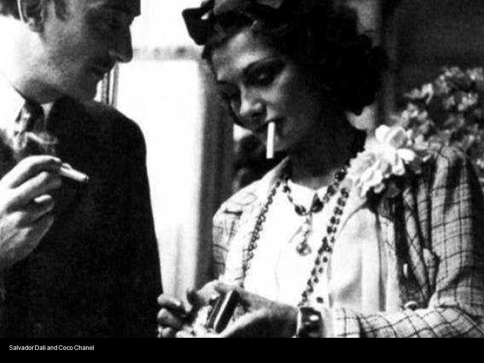 Salvador Dali and Coco Chanel