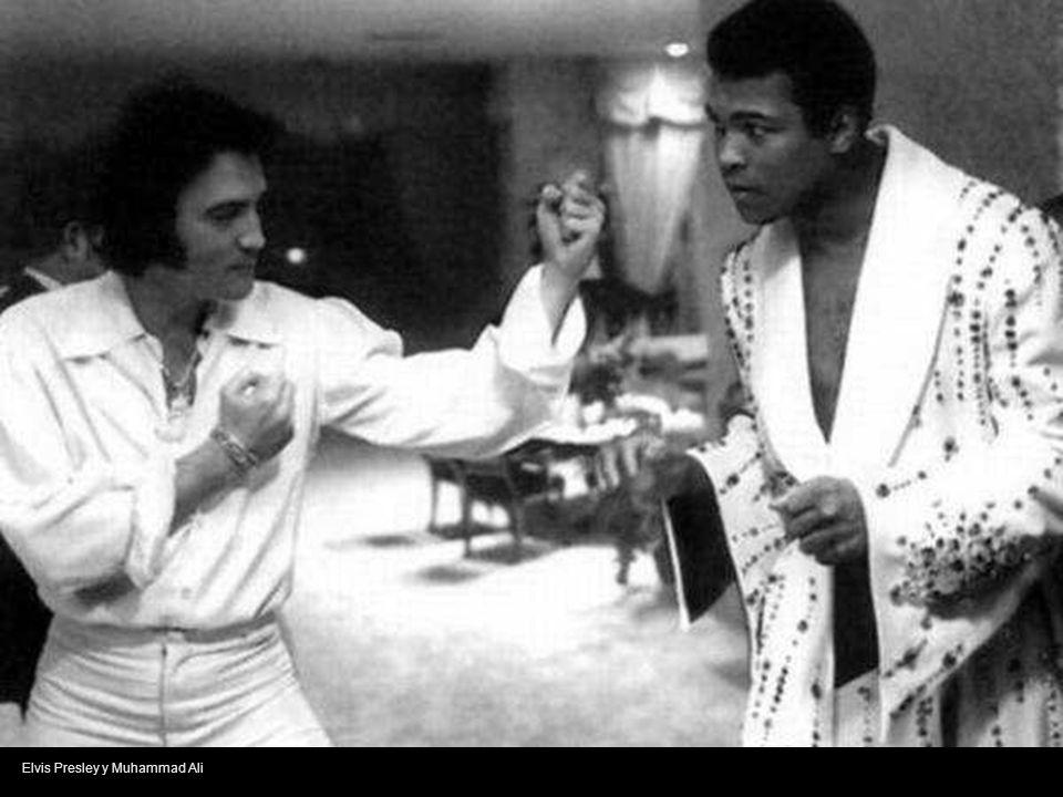 Elvis Presley y Muhammad Ali