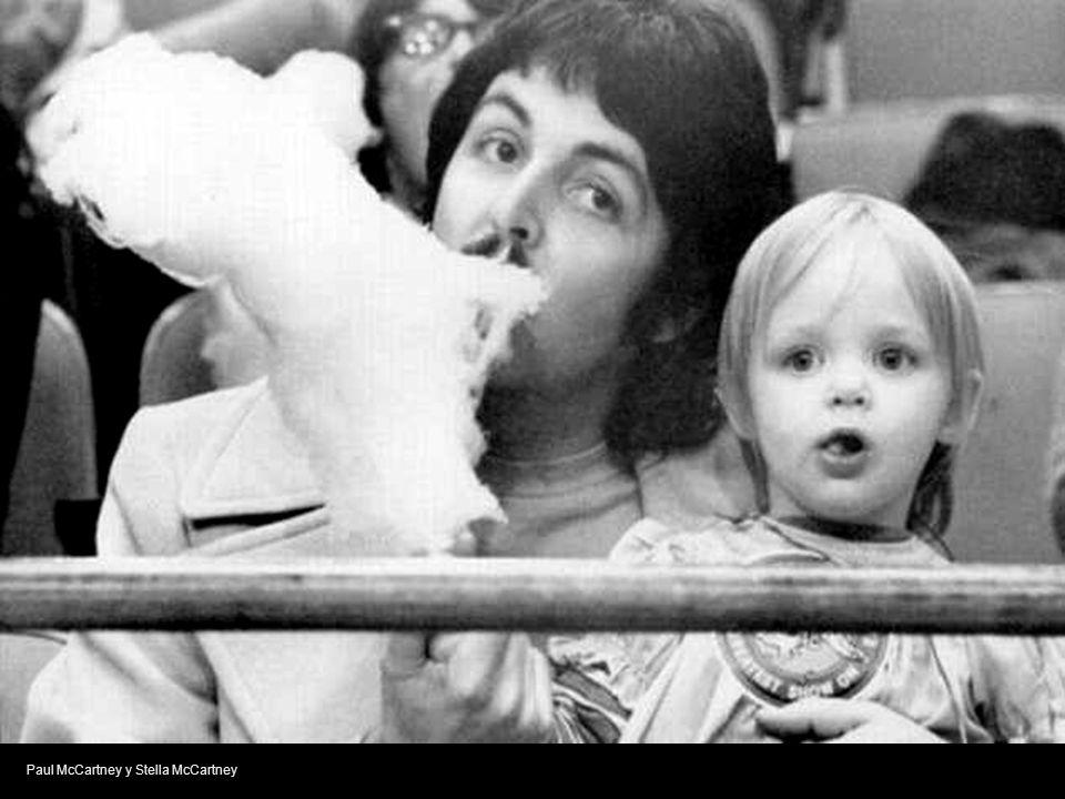 Paul McCartney y Stella McCartney