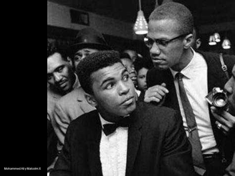 Mohammed Ali y Malcolm X