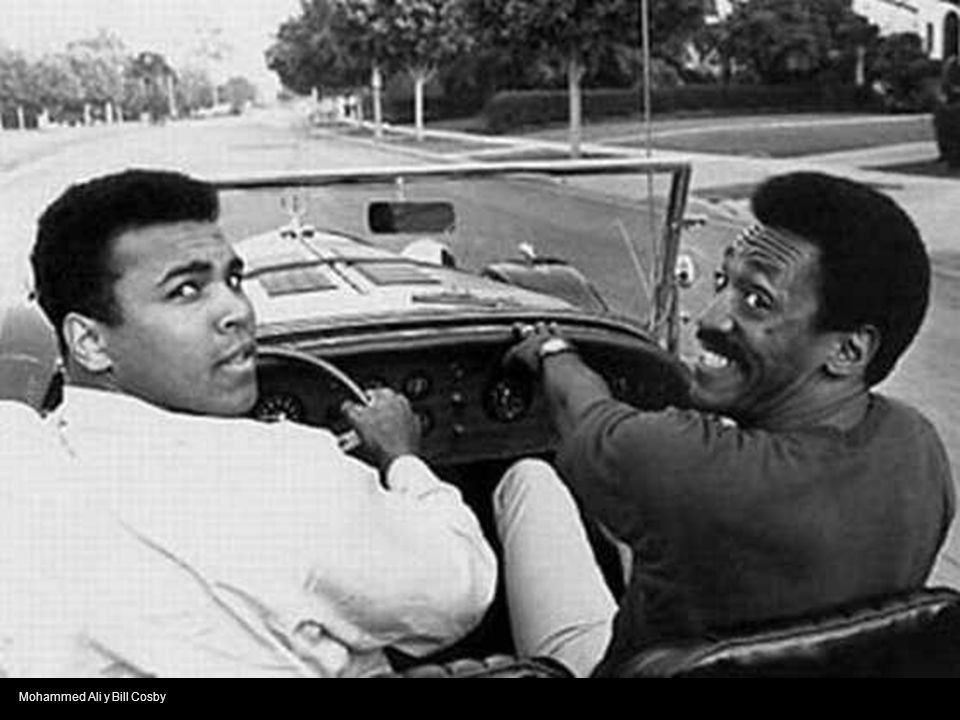 Mohammed Ali y Bill Cosby