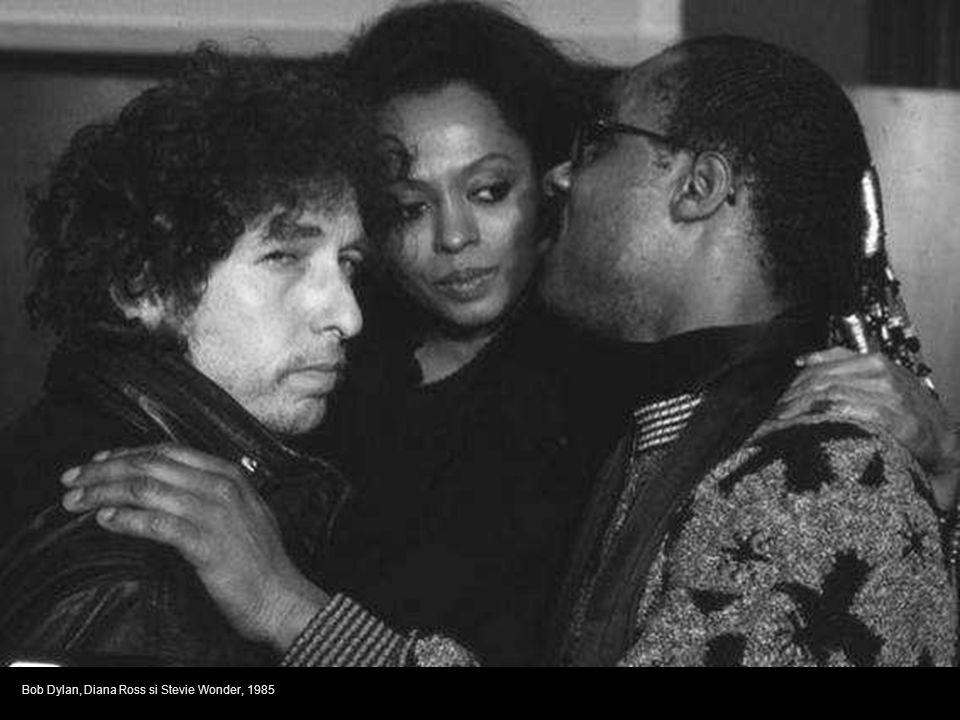 Bob Dylan, Diana Ross si Stevie Wonder, 1985