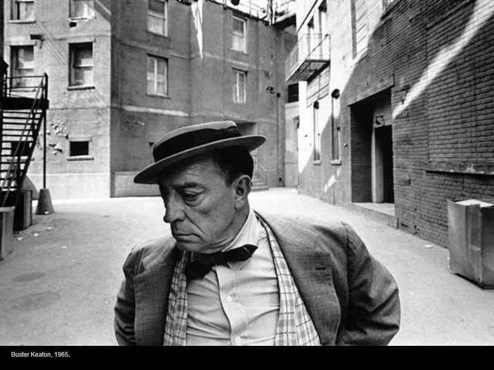 Buster Keaton, 1965,