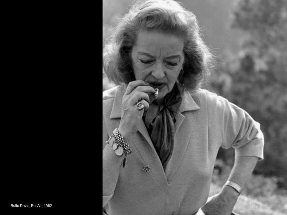 Bette Davis, Bel Air, 1962
