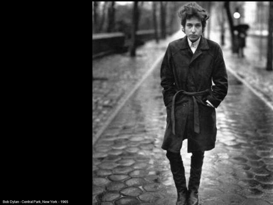 Bob Dylan - Central Park, New York - 1965