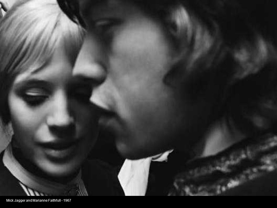 Mick Jagger and Marianne Faithfull - 1967