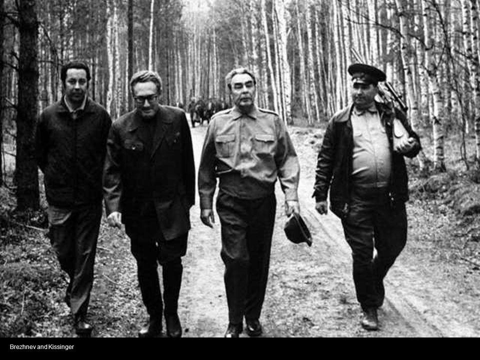 Brezhnev and Kissinger