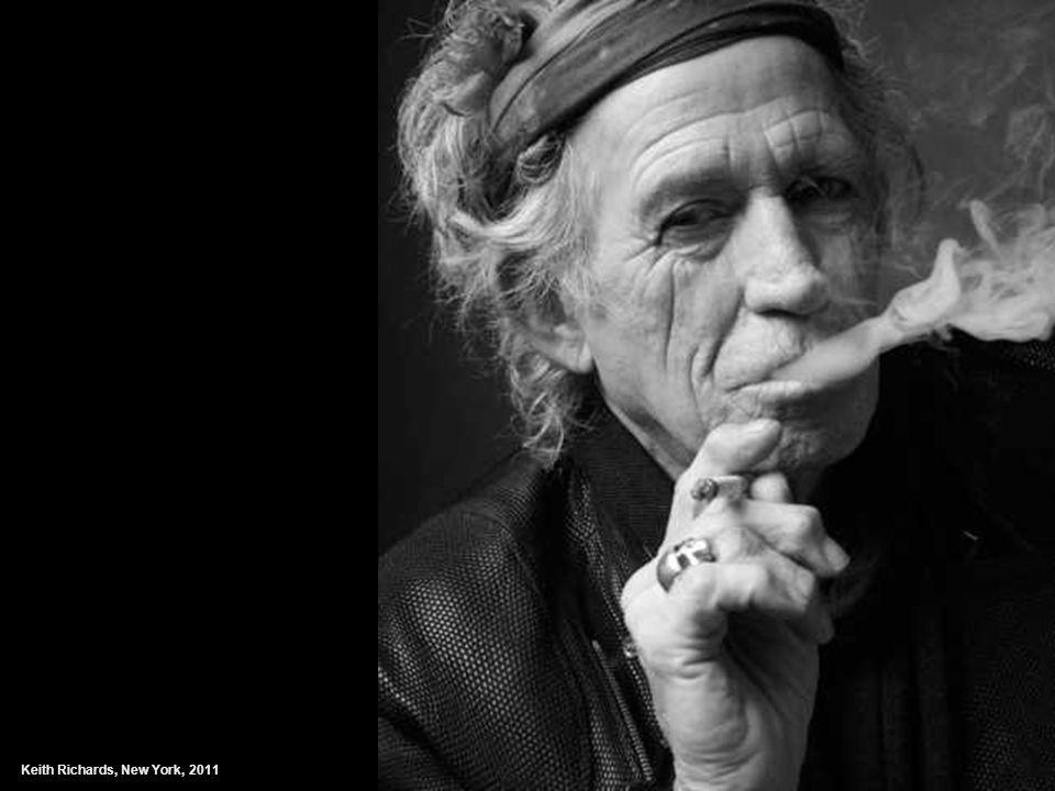 Keith Richards, New York, 2011