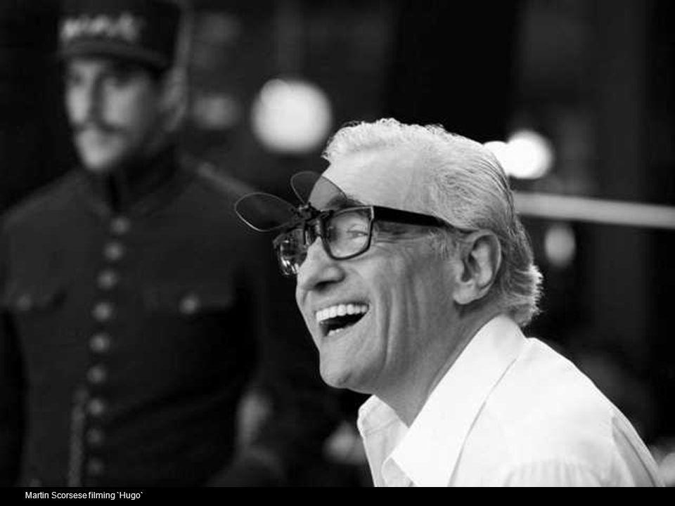 Martin Scorsese filming `Hugo`