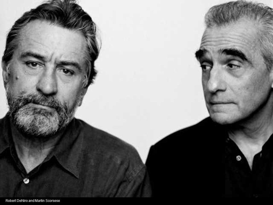 Robert DeNiro and Martin Scorsese