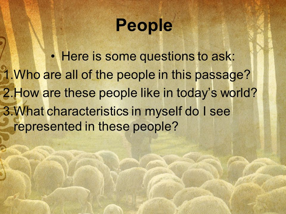 Here is some questions to ask: