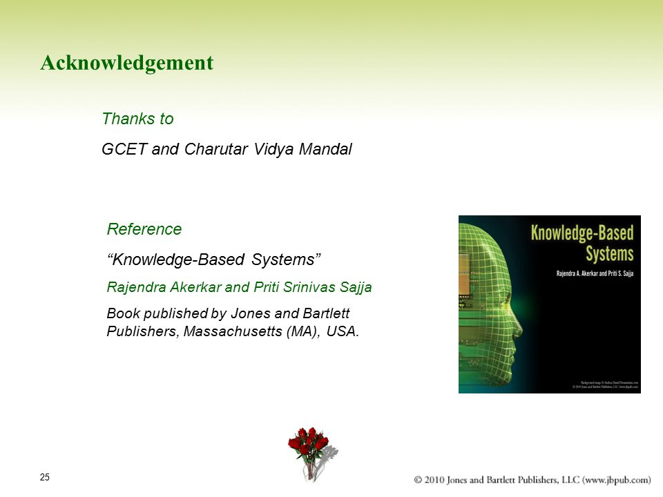 Acknowledgement Thanks to GCET and Charutar Vidya Mandal Reference